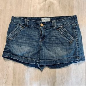 🍁 denim shorts by Maurices
